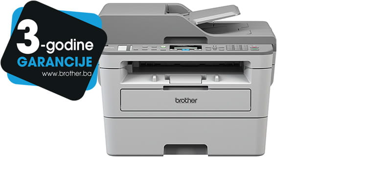 Brother printer MFC-B7715DW with logo 3 years warranty for Bosnia